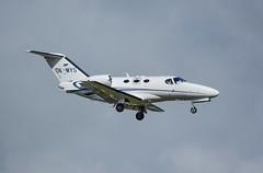 OK-MYS  PAL Express Cessna 510 Citation Mustang. (Austyn Pratt) Tags: plane airplane geneva aircraft aviation flight aeroplane mustang bizjet cessnacitation privatejet corporatejet okmys