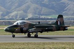 BAC Strikemaster (GJC1) Tags: friday warbird bac strikemaster warbirdsoverwanaka gjc1 wanakaairport displaypractice geoffcollins