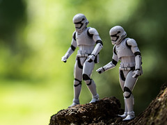 Dude, I think we are lost! (Vimlossus) Tags: black starwars action stormtroopers figure series