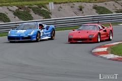 Ferrari 488 GTB et F40  - 20160605 (0496) (laurent lhermet) Tags: sport collection et ferrarif40 levigeant valdevienne sportetcollection circuitduvaldevienne sel55210 sonya6000 sonyilce6000 ferrari488 ferrari488gtb