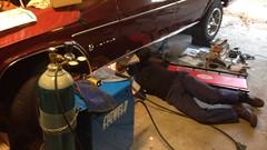 IMG_2792 (john.and.kath) Tags: chevrolet conversion engine swap impala ls transmission saddles 1965 60l jrd ls2 crossmember l76 4l65e