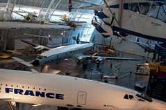 Commercial aircraft (stevesheriw) Tags: smithsonian nationalairandspacemuseum udvarhazy chantilly virginia concorde airfrance sst supersonic fbvfa airplane lockheed 1049 superconstellation