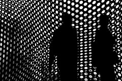 2 Abstract (MarkL87) Tags: nyc newyorkcity blackandwhite bw abstract streets manhattan streetphotography
