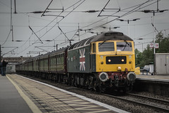 47580 - 1Z62 - Newark Northgate - 19.05.2016 (Tom Watson 70013) Tags: 47580 county of essex class47 cathedrals express 4472 60103 flying scotsman diesel duff train railway station 1z62 newark northgate