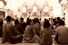 Buddhist temple (Danny Chiam) Tags: temple buddhist religion sarawak malaysia kuching wesak