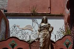 Casa Rosso,Roman Statue on island of Capri. (Amo535) Tags: statue island campania roman rosso cassa anacapri