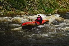 DSCF8302 (Lumire du soir) Tags: canoe correze kayack treignac comptition