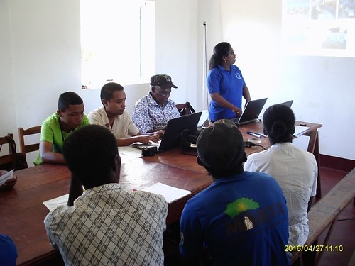 C3 program Coordinator making presentation during COSAP meeting