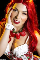 Sinful Desserts... (Ring of Fire Hot Sauce 1) Tags: portrait glamour cosplay redhead strawberryshortcake wondercon sintwisted