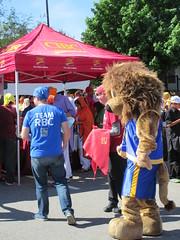 Dueling banks (jamica1) Tags: canada temple bc okanagan columbia mascot british kelowna sikh banks cibc rbc vaisakhi