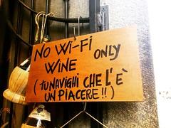 communication! (francesca giordano 3) Tags: restaurant florence wine communication comunicazione tuscany firenze toscana ristorante vino tourguide guidaturistica wifii