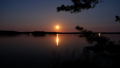 Red Moon3 (Techie34) Tags: moon lake ontario canada ottawa north crotch frontenac