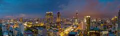 Central World (Showcase Panoramics) Tags: city sunset panorama night landscape thailand cityscape stitch bangkok magnolia magnolias ratchadamri ratchaprasong