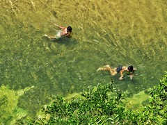 Local Boy Swimming in Clear River (thegunznroses1904) Tags: lake swimming river clearriver travellight pergaudam amateurtobepro mountreng