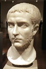 Ancient Rome.  Marble bust of Emperor Publius Licinius Egnatius Gallienus (r. 253 - 260 - 268 AD) (b.218- d.268 AD) (mike catalonian) Tags: portrait male bust marble emperor gallienus ancientrome 3rdcenturyad