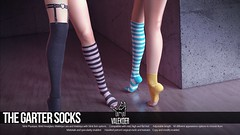[VALE KOER] GARTER SOCKS (VALE KOER) Tags: life stockings garter festival socks heart crystal bob vale sl second vk koer valekoer