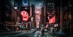 2016 Was Coming 3 (Gordon McCallum) Tags: nyc newyork sony streetscene timessquare sigmaartlens sonya6000 newyearpreparations 31stdec15