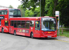 GAL SE209 - YY14WEK - SIDCUP QM HOSPITAL - MON 13TH JUNE 2016 (Bexleybus) Tags: london ahead hospital kent go central queen route 200 marys dennis enviro tfl adl sidcup 286 goahead se209 yy14wek