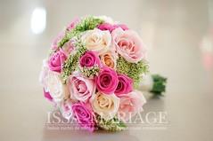buchet nasa din trandafiri in nunte de roz (IssaEvents) Tags: buchet mireasa si nasa din trandafiri nunte de roz issaevents issamariage bucuresti valcea slatina