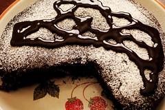 Tasty Interludes II (time_anchor) Tags: chocolatecake cake dessert yummy syrup cocoa bakedfoods bakeddesserts tastyinterludes snacks