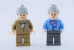 Aunt May minifigs (Alex THELEGOFAN) Tags: lego marvel super heroes aunt may spider man 4854 76057