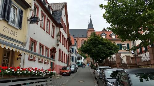 Blick Marktplatz zur Katharinenkirche
