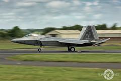 """ Langley's Finest"" (SJAviation.net) Tags: nikon 1st aircraft aviation jet airshow raptor f22 panning usaf riat langleyafb fighterwing sjaviationnet"