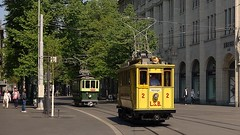 Tram Museum Zürich -  Fotofahrt 13. April 2014 (hrs51) Tags: tram museum zürich limmattal strassenbahn oerlikon seebach fotofahrt grieder tramway streetcar museumslinie 21 paradeplatz hans rudolf hansrudolf hansruedi stoll