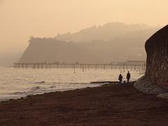 Evening (Balticson) Tags: teignmouth devon beach sea sand evening autumn coast pier teignmouthpier
