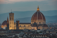 The Dome, Florence (urbanexpl0rer) Tags: florence tuscany italy dome architecture historical historicalbuilding church cityscape city evening