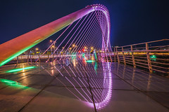 (a99775599) Tags: sony a6000 e16 ecu1 taiwan taichung     sel16f28 valentinebridge   longexposure nightview love