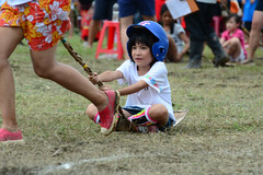 Betel Nut Frond Racing 2 (Bob Hawley) Tags: nikond7100 nikon80200f28 asia kaohsiung taiwan zuoying aboriginalculture aborigines races festivals people children betelnut palmfronds ami