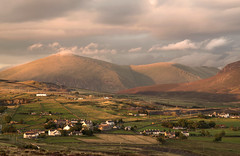 Mountain Life (Glenn D Reay) Tags: yfron snowdonia wales mountains sunset village golden light remote pentaxart pentax k30 sigma1770hsm glennreay