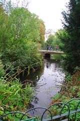 D15603.  Lloyd Park. (Ron Fisher) Tags: water lake pond lloydpark walthamstow e17 london londone17 trees green path pentax pentaxkx tamron tamron18200mm tamronaf18200mmf3563xrdiiildasphericalif park reflections bridge footbridge