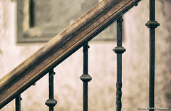 Bannister (scottnj) Tags: bannister banister scottnj detail abstract 268366 scottodonnellphotography redditphotoproject reddit365 cy365