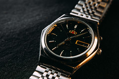 Clock (arozetsky) Tags: clock wrist watch macro orient