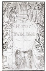 'Mystery of Edwin Drood' - design by Charles Collins for monthly cover of the parts (petkenro) Tags: dickens edwin drood