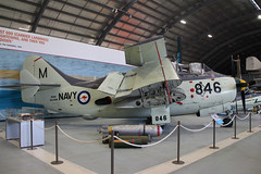 Fairey Gannet T.5 Royal Australian Navy XA434/846(XG888) (NTG's pictures) Tags: fleet air arm museum australia nowra nsw royal australian navy aviation fairey gannet t5 xg888 xa834846
