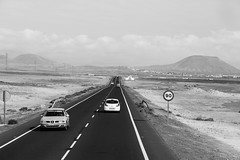 Road 1 (norm.edwards) Tags: road blackwhite canaries hot sand thebiggestgroup scenery red dramatic drama blackandwhite black white wow cool