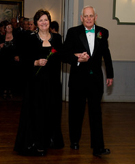 Grand March Mary and Jim Crossan