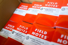 So Many Field Notes (scottboms) Tags: california menlopark facebook fieldnotes arl specialedition analogresearchlab