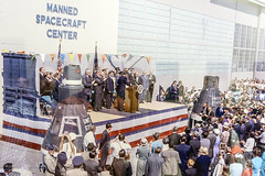 Early Photo of Manned Spacecraft Center