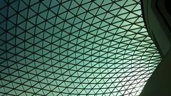 London Micro Adventure - October 2014 (afaloon) Tags: uk roof light england london silhouette matrix october triangle shaddow britishmuseum 2014
