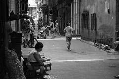 """""""Late For school"""" (sherrahme) Tags: life china road street new old city family school friends boy people urban blackandwhite woman baby man cute history girl work shopping asian photo alley asia quiet exercise image time photos walk country great daughter chinese young mother picture culture streetphotography husband social daily pregnant dirty housework mum tired guangdong future present teenager change brave shenzhen dedicated past society stress relationships chores developing supermum photodocumentary dragonmother photodocumenting instagram sherrah"""