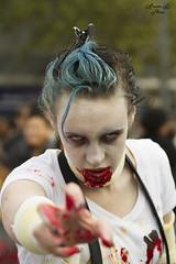 Zombie Walk Paris 2014 (AleX.D - SuShY**) Tags: paris canon walking dead zombie walk mort 85mm 7d marche horreur 2014