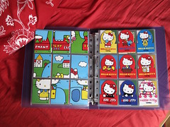 Hello Kitty 40th Anniversary Trading Cards (Jay Tilston) Tags: hello cards 40th kitty deck upper trading