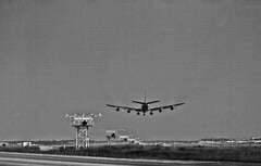 About to Touch Down (craigsanders429) Tags: aircraft jets airports airlines twa boeing707 jetliners landingaircraft transworldairlines lambertstlouisairport