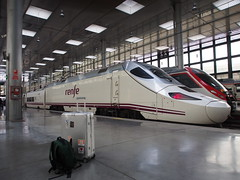 Cdiz Train Station, Spain (ChihPing) Tags: travel olympus andalucia trainstation cadiz cdiz omd  topas rimowa   em5