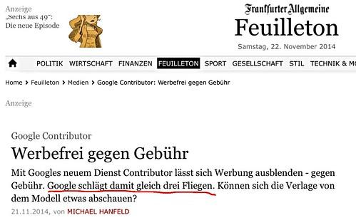 """Misslungene Bilder: Google schlägt drei Fliegen • <a style=""""font-size:0.8em;"""" href=""""http://www.flickr.com/photos/77921292@N07/15660336020/"""" target=""""_blank"""">View on Flickr</a>"""