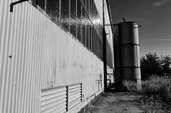tank (fallsroad) Tags: blackandwhite bw abandoned rust industrial decay steel rusty rusted tulsaoklahoma nikond7000 evansfintube